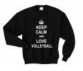 keep calm and lov volleyball czarna.png