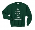 keep calm and lov volleyball butelkowozielona.png