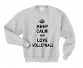 keep calm and lov volleyball szara.png