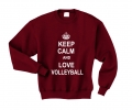 keep calm and lov volleyball bordo.png
