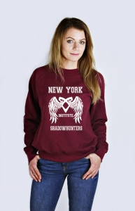 Bluza NEW YORK SHADOWHUNTERS INSTITUTE dary anioła