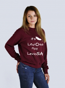 Bluza IT'S LEVIOSA NOT LEVIOSA potterheads