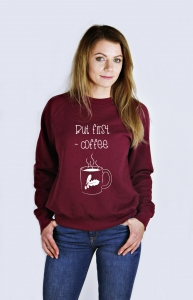 Bluza BUT FIRST COFFEE Zwiadowcy