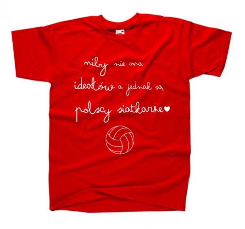 2936fd72f36506 Śmieszna koszulka dla kibica siatkówki ; modna bluzka dla fanki siatkówki i  siatkarzy z nadrukiem NIBY