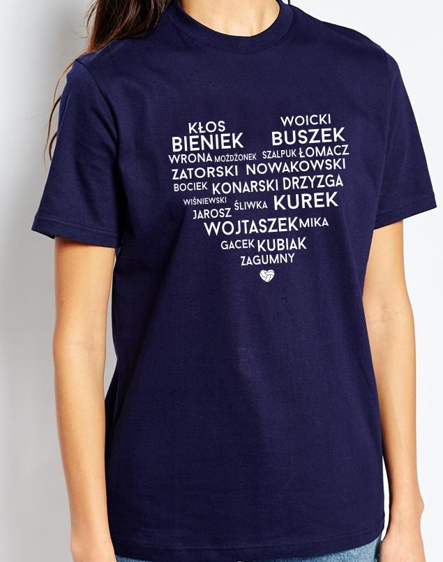 d8d1f5dc2fe1b4 ... Koszulka siatkówka / bluzka siatkówka - koszulka z polskimi  siatkarzami, bluzka polscy siatkarze - koszulka ...