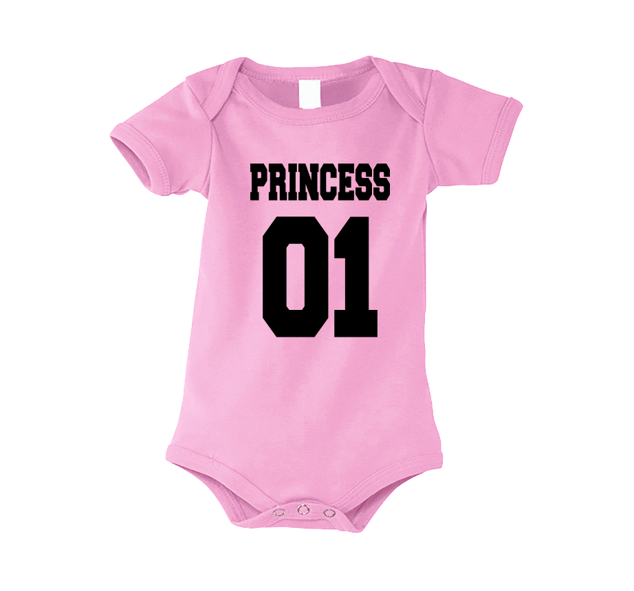 5fd6af2530 Body dziecięce niemowlęce z nadrukiem PRINCESS 01 MODA WYDRUKOWANE