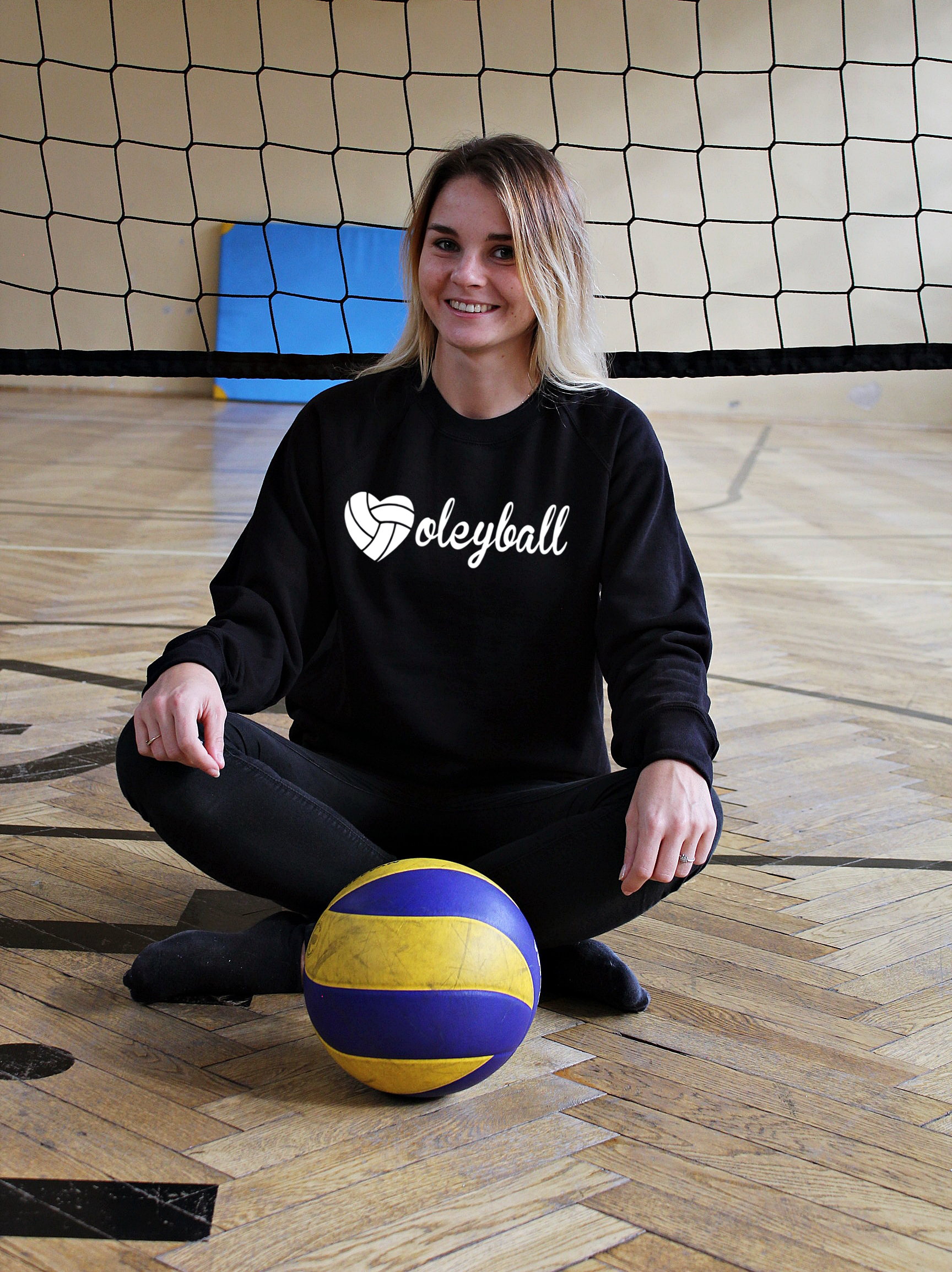 8b3f6b6b7 Bluza VOLLEYBALL napis heart siatkówka. volleyball napis czarna zdj 2.png.  volleyball napis czarna zdj 2.png ...