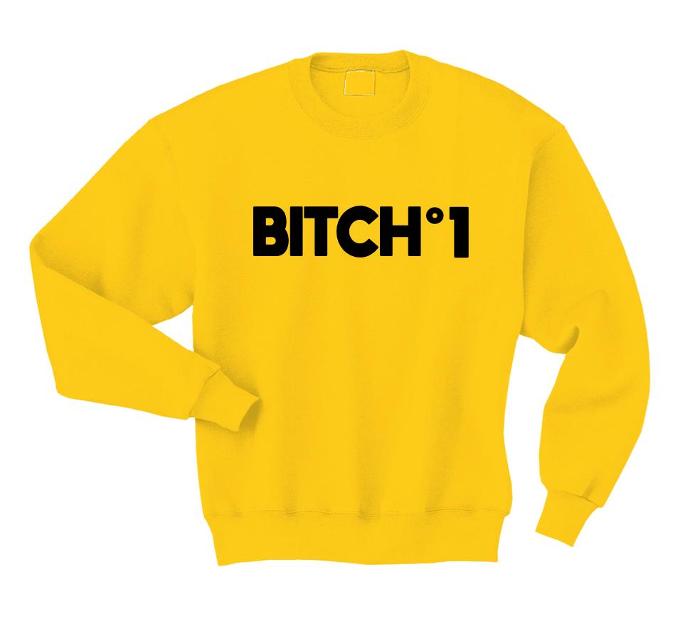 Bluza BITCH NR 1 dla przyjaciółki przyjaźni BLUZY Z